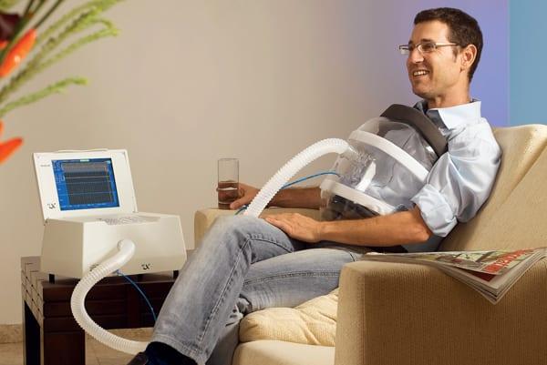 An example of an external ventilator.