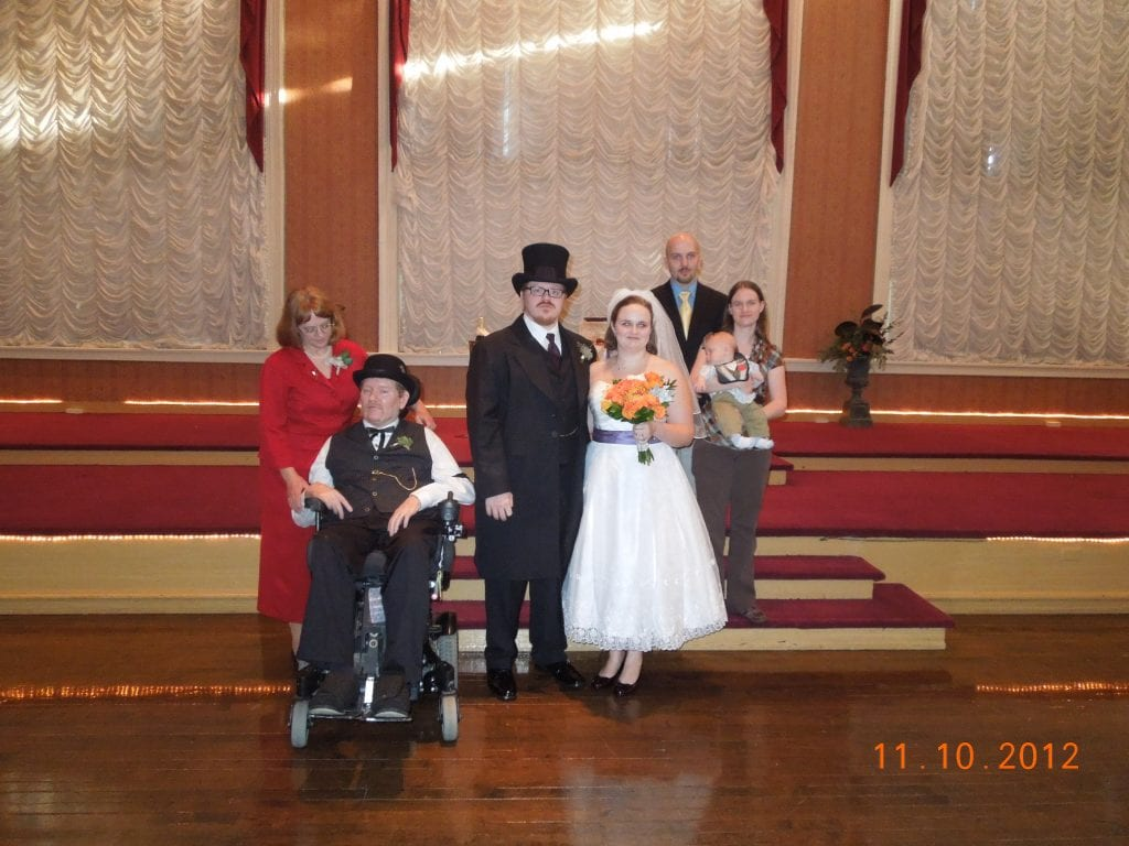 Eric's wedding