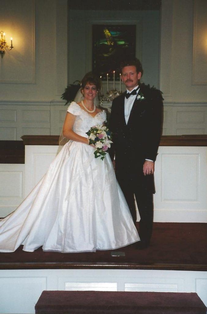 Donna and Lynn on their wedding day