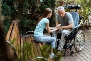 Immobility can range from required use of a wheelchair to the occasional use of a cane and everything in between.