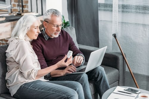 couple reviewing their medications to understand them better