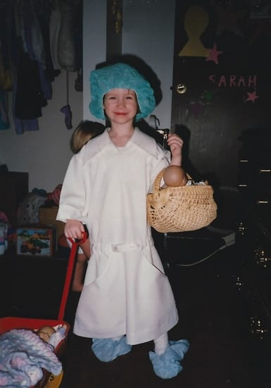 Though age 5 is too young to practice sterile technique, my daughter eventually became a nurse and needed uses sterile procedure both at home and work.
