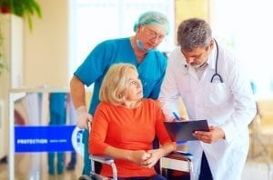 Caregivers need help learning how to do things when they are discharged from medical care.