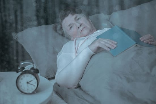 Difficulty sleeping is a common symptom of caregiver burnout since caregivers often anticipate calls for help.