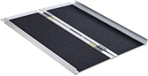 A portable ramp is a useful accessibility resources to carry in the car just in case you arrive somewhere and the curb is too high to go over.