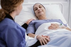 Family Member in hospice care at home.