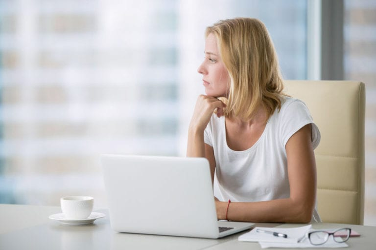 A family caregiver researching on her own questions when she could find those answers using Becoming a Family Caregiver's website.